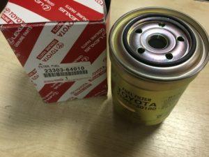 Toyota 23303-64010 – фильтр топливный