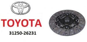 Toyota 31250-26231 – диск сцепления в сборе