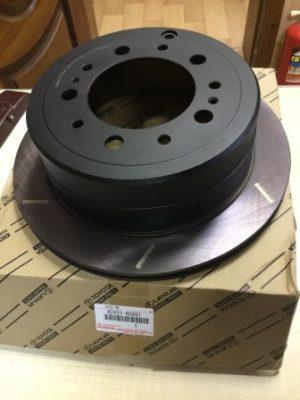 Toyota 42431-60281 – тормозной диск задний