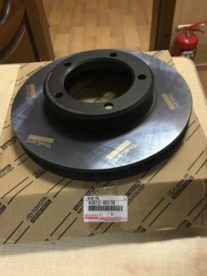 Toyota 43512-60170 – тормозной диск передний