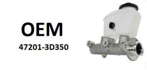 OE 47201-3D350 – главный тормозной цилиндр
