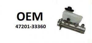 OE – 47201-33360 – главный тормозной цилиндр