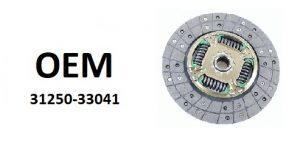 OE – 31250-33041 – диск сцепления в сборе