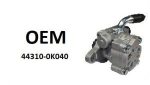 OE-44310-0k040 насос гидроусилителя руля