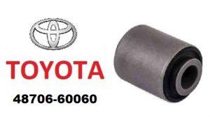Toyota 48706-60060 – сайлентблок поперечной задней тяги