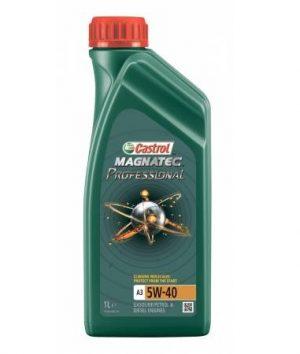 Моторное масло Castrol Magnatec Professional A3 5W-40 (1 л.); арт. 156EC7